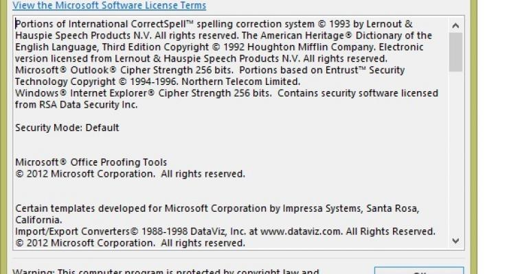 Update causes Outlook 2013 to fail to open archive mailboxes