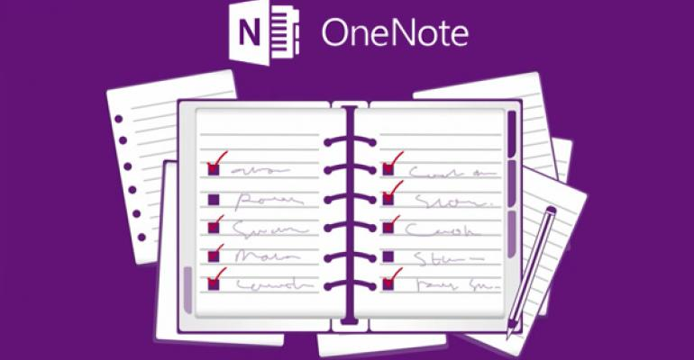 OneNote for Windows Store Gets a Major Update