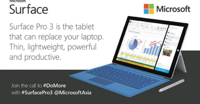 Hello, World: Surface Pro 3 Goes International