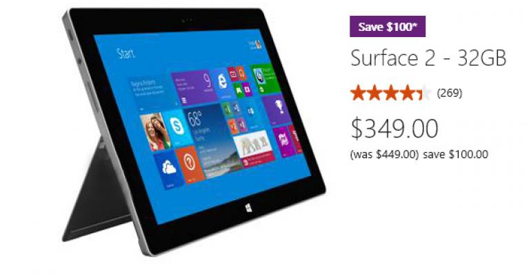 Surface 2 at $350: Time to Buy?
