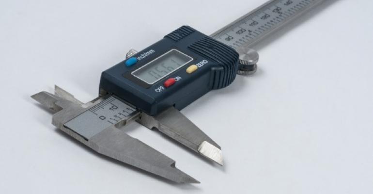 Vernier caliper for scaling measurement