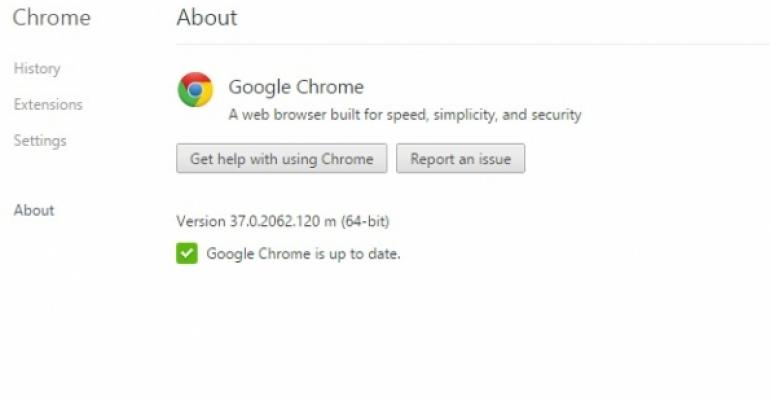 Chrome problem for Exchange due to Google haste and Microsoft inattention