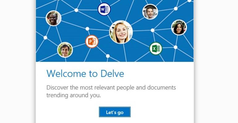Office Delve debuts to help Office 365 users find information again