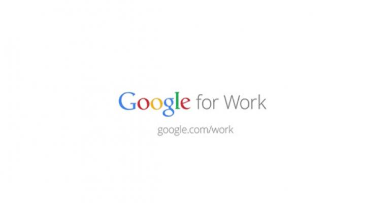 Google Rebrands for the Workplace