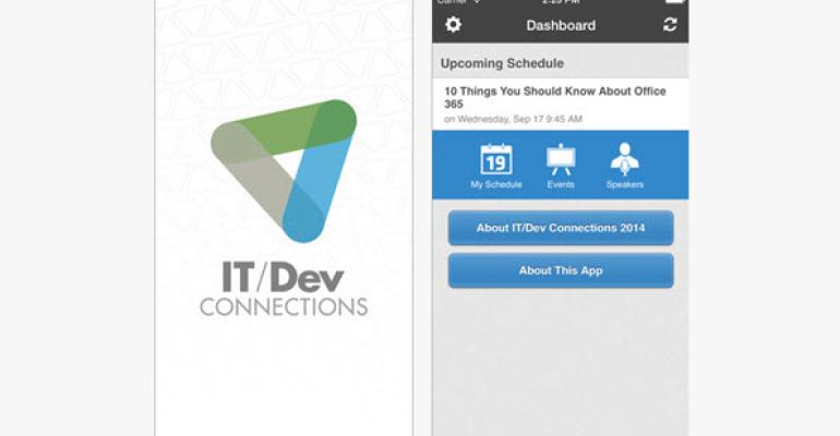 Get the IT/Dev Connections 2014 Mobile App!