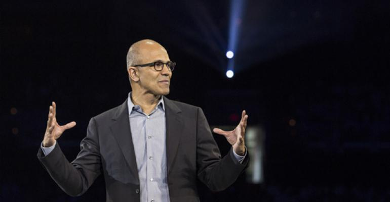 "Satya Nadella Explains the ""Mobile"" in ""Mobile First, Cloud First"""