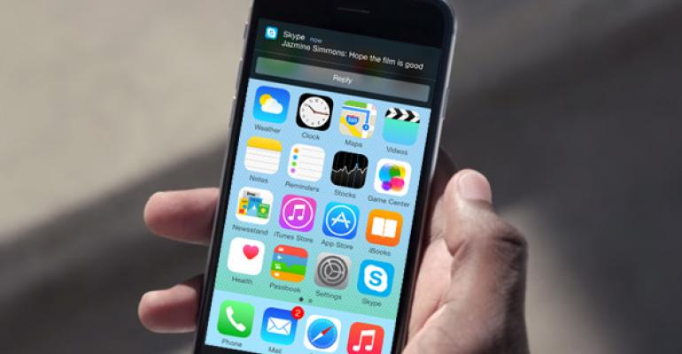 Skype for iPhone Updated for iOS 8