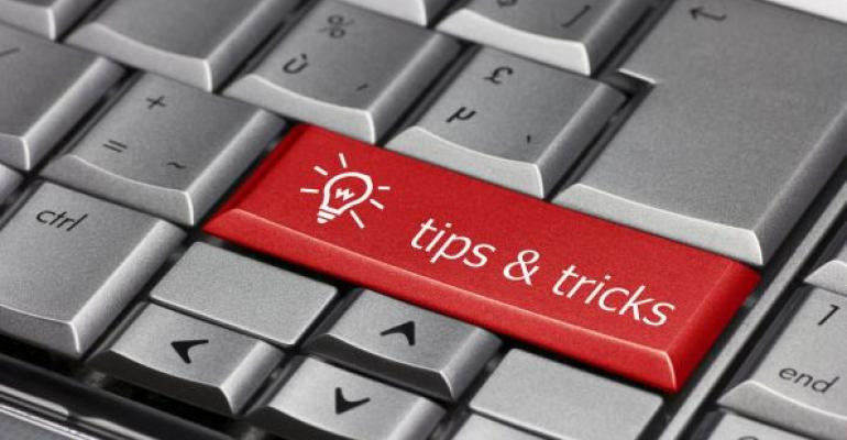 red tips and tricks key on computer keyboard