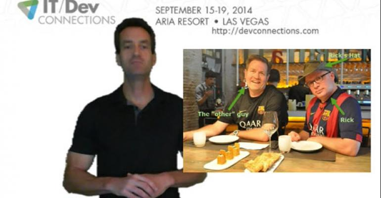 IT/Dev Connections: Meet the Speakers, Episode 1