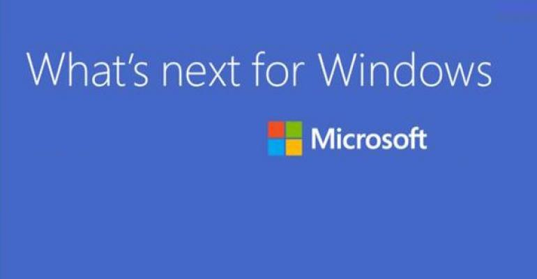Live from San Francisco: It's the Future of Windows