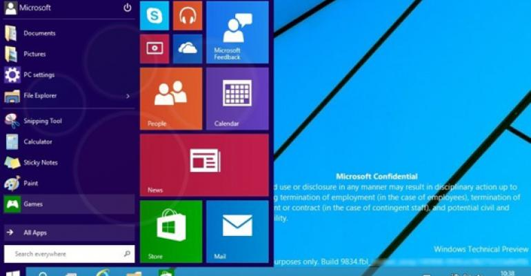 Windows 9 Technical Preview Screenshots Leak: An Analysis (Part 1)