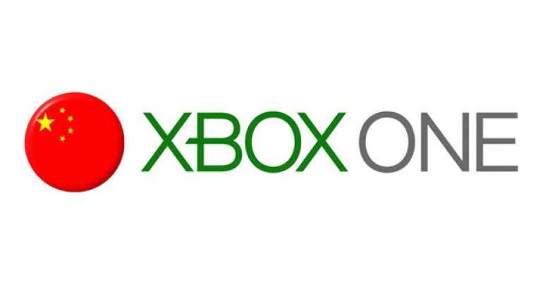 Xbox One Will Now Launch in China on September 29