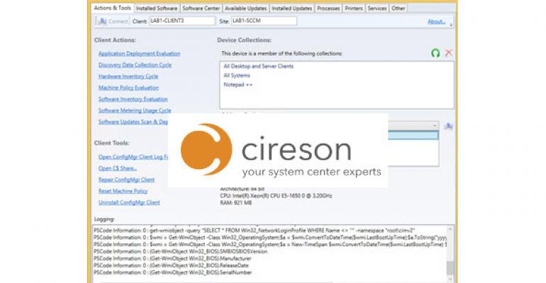 Cireson Releases Its First Integrated SCCM Solution with a Nod to Roger Zander's Work