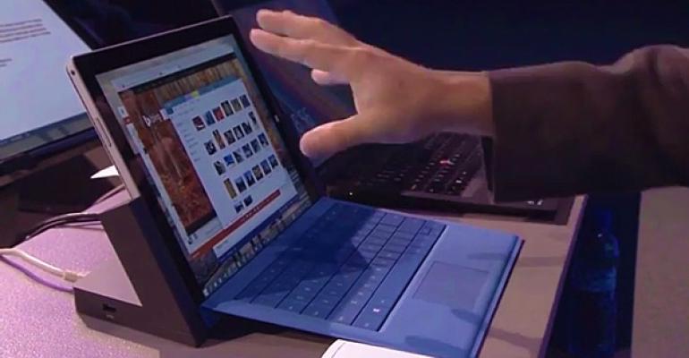 Microsoft Details Windows 10 TrackPad Gestures