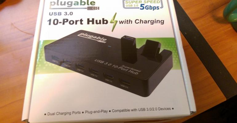 Product Review: The Plugable USB 3.0 10-Port Hub