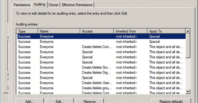 Taking Control of Active Directory Changes – Part I