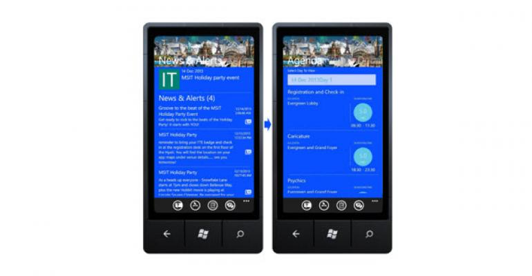 Microsoft Has Developed a SaaS App for Conferences and Events