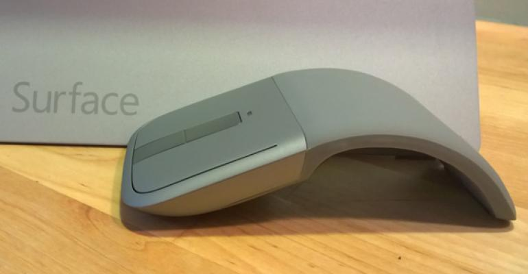 Microsoft Arc Touch Bluetooth Mouse First Impressions