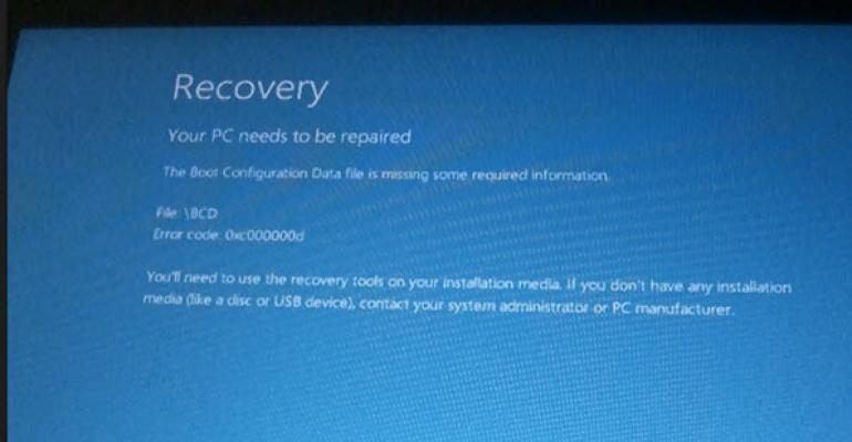 Obtaining Recovery Media for Your Microsoft Surface Tablet