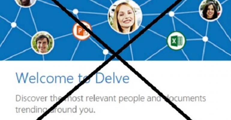 Do other options exist if you don't like Office Delve?