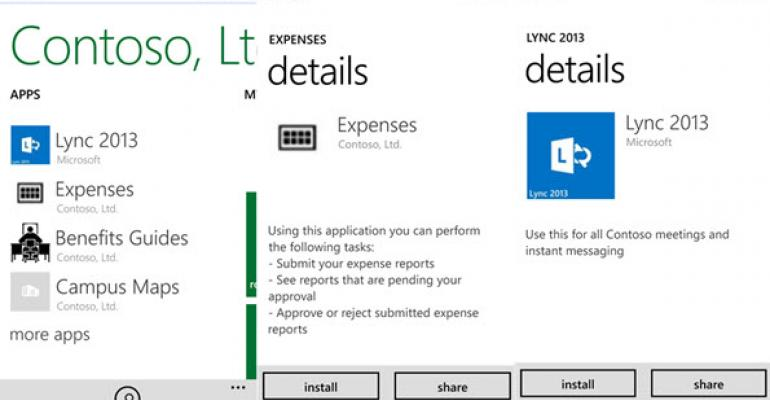 Microsoft Updates Intune Company Portal App for Windows Phone 8.1