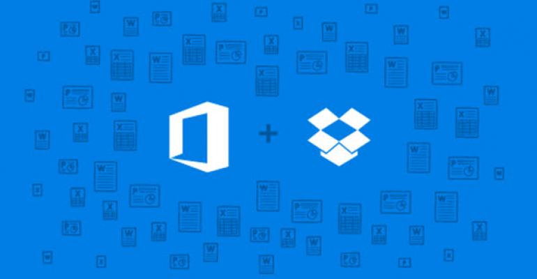 Dropbox Partners with Microsoft for Deep Office Integration