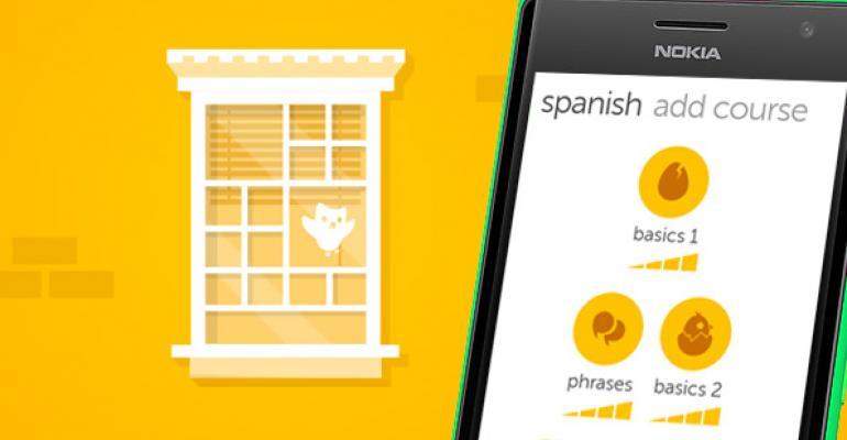 Duolingo Comes to Windows Phone 8.1