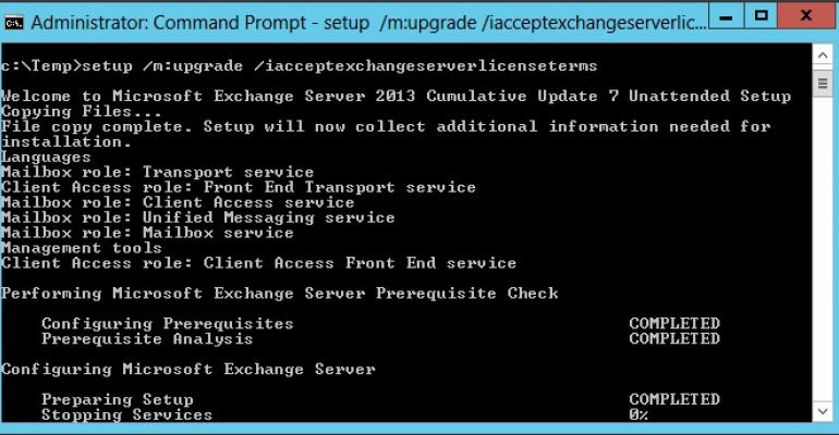 Exchange 2013 CU7 debuts along with security fixes and updates for Exchange 2010 and Exchange 2007