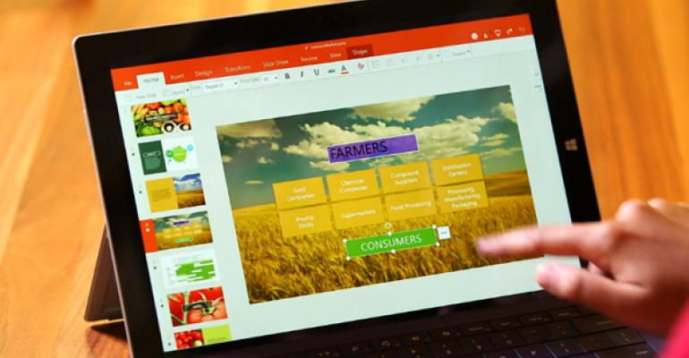 Here is Touch-Optimized Office for Windows