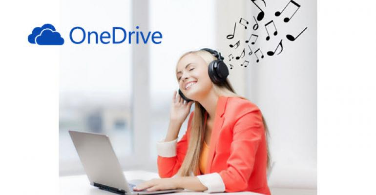 OneDrive Music Streaming Capability Coming Soon?