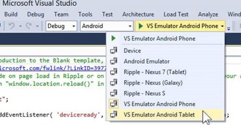 Visual Studio and  NET Go Cross-Platform | IT Pro