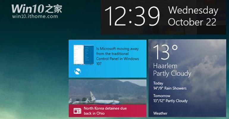 First Windows 10 Consumer Preview Leaks Appear