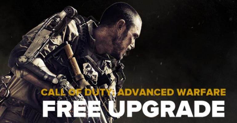 "Free Upgrade from ""Call of Duty: Advanced Warfare"" on Xbox 360 to Xbox One"