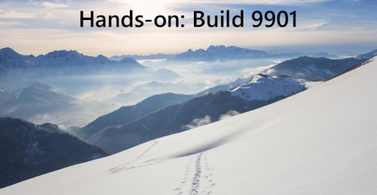 Hands-On with Windows 10 Build 9901