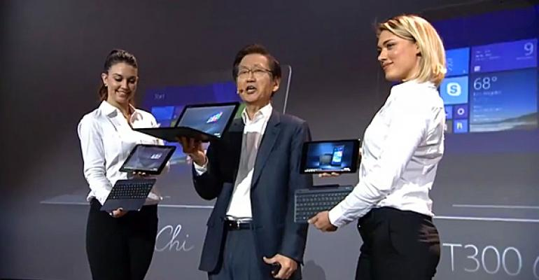 CES 2015: ASUS Expands Transformer Lineup with Chi