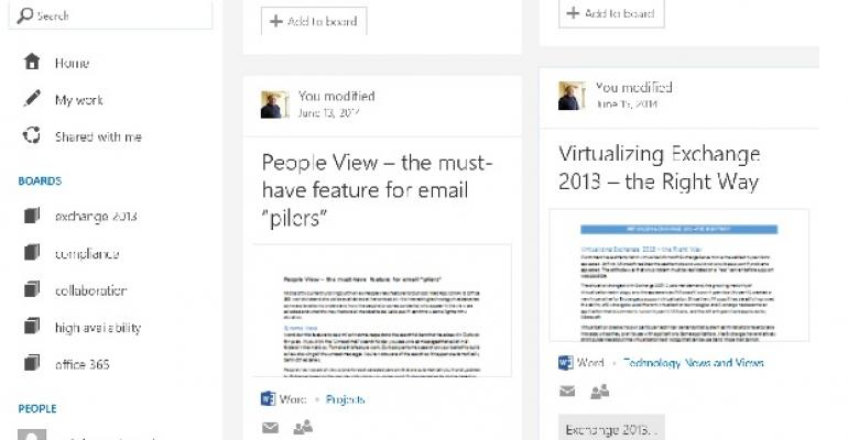 Control needed as Office Delve introduces even more potential for confusion