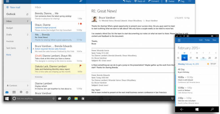 Office 2016 and Office Universal Apps for Windows 10 to Deliver This Year