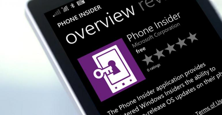 Microsoft to Expand Windows Technical Preview to Windows Phone Users