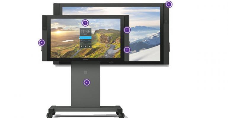 Microsoft Surface Hub is TV for Business