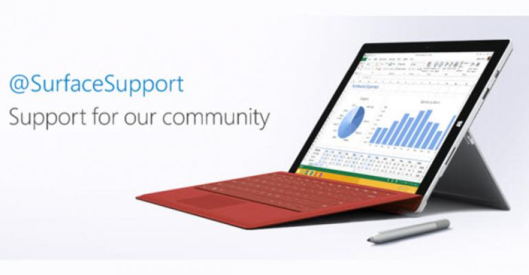 Microsoft Unveils New Surface Support Channel Exclusive to Twitter Users