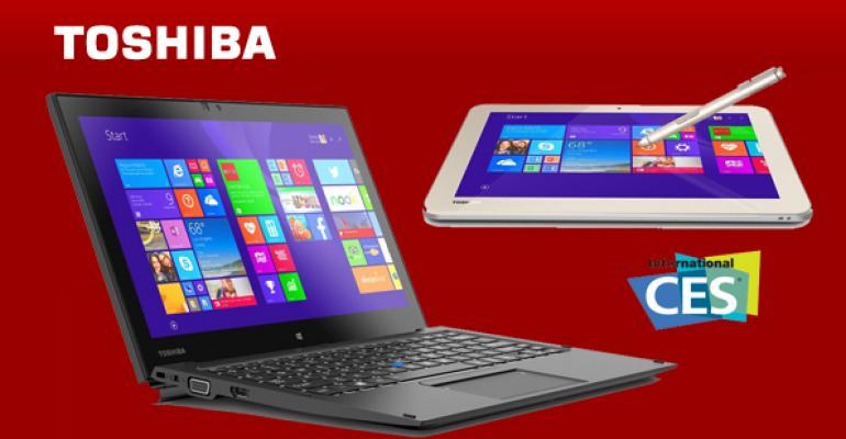 CES 2015: Toshiba's Stunning New Windows Devices