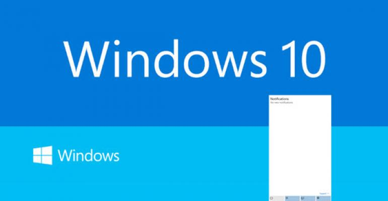 Windows 10 Build 9926: Charms is Dead, Long Live Notifications