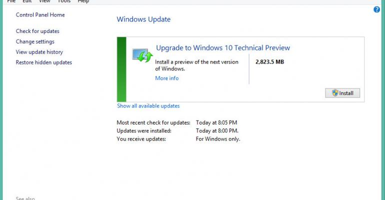 Upgrade Windows 7 or 8 to the Latest Windows 10 Build