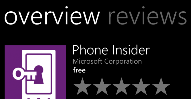 Microsoft updates Windows Insider app for Windows Phone users