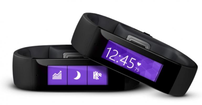 Microsoft Band races forward with cycling exercise tile, web portal, virtual keyboard and SDK