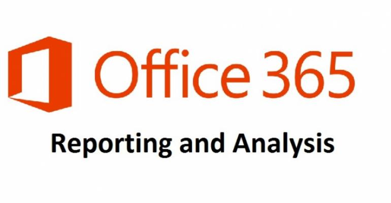 Reporting Office 365