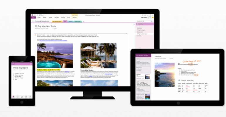 OneNote 2013 free desktop version gets even better with latest update