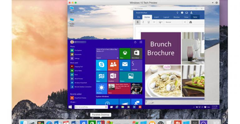 Run Windows 10 Technical Preview on Your Mac