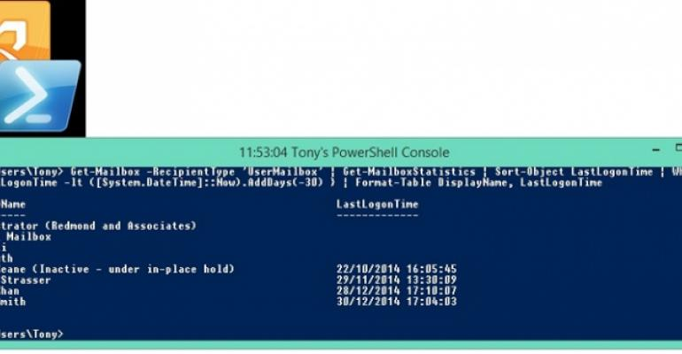 Why PowerShell is often not the best tool for reporting Exchange data