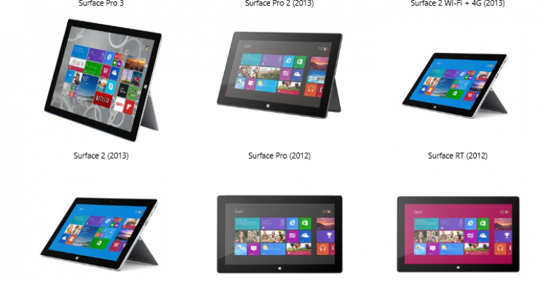 Microsoft is now offering a trade in program for Surface devices